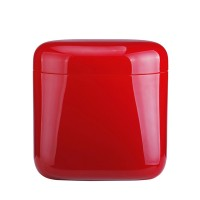 Coffee red storage jar Latina Guzzini