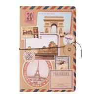Notebook 12x18 cm (256 pages) naturelles