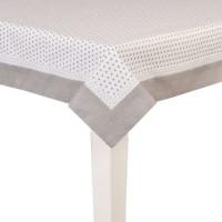 Tablecloth 150x150 cm grey