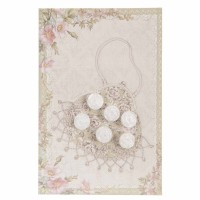 Button card 10x15 cm multi couleurs
