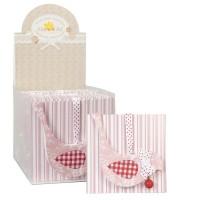 Odore bag fruits 12x12 cm rosa