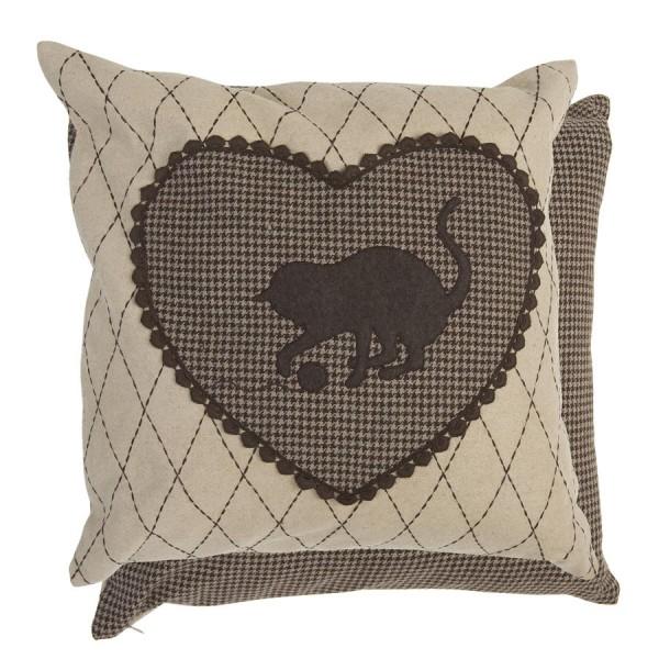 Cushion cover 50x50 cm brown