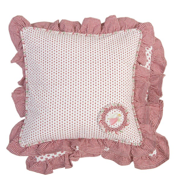 Cushion cover 40x40 cm red