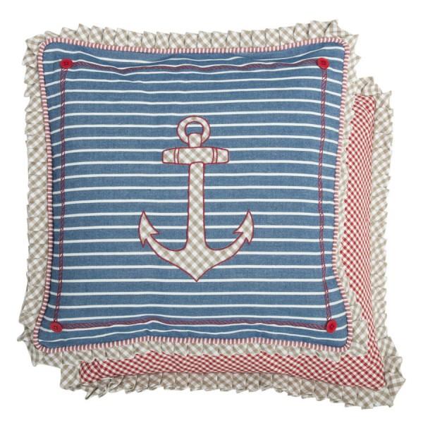 Cojín marinero ancla