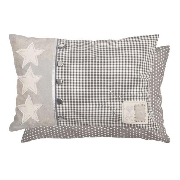 Cuscino 50x35 cm grigio