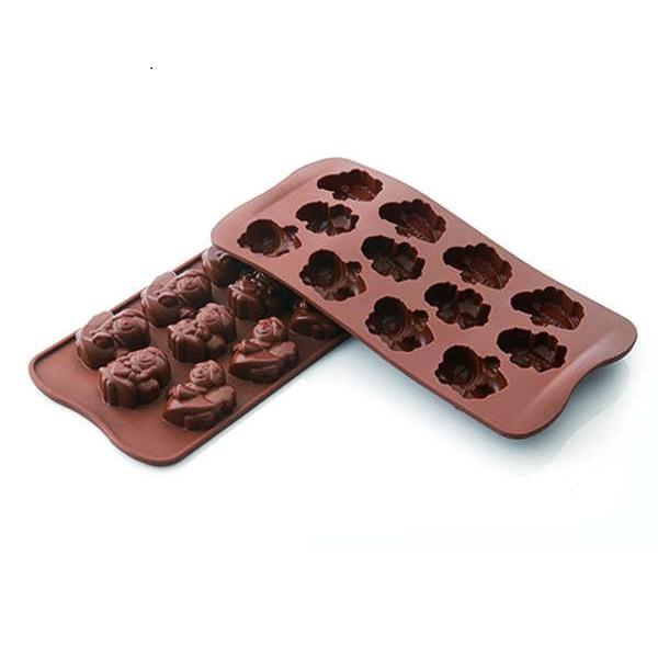 Molde silicona bombones Choco Angels Silikomart