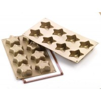 Gold stars mold Silikomart SF 170