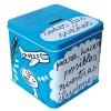 """Blue metal/Money box """"Para alcanzar todos tus sueños"""""""