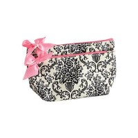 Bouquet cosmetics sac blanc damask
