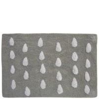 "Beige bathroom rugs with drops ""Paraguas"""