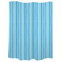 "Blue shower curtains ""Trazos"""