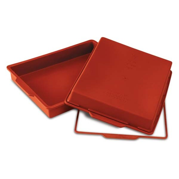 Molde silicona rectangular lasaña 28x22x4h cm Silikomart