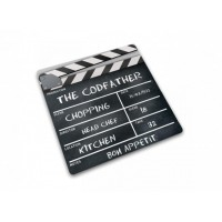 Clapperboard cutting board Joseph 30x30 cm