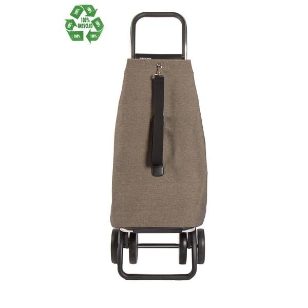 Carrello spesa portatile Ecomaku logic granito 2+2 4 ruote