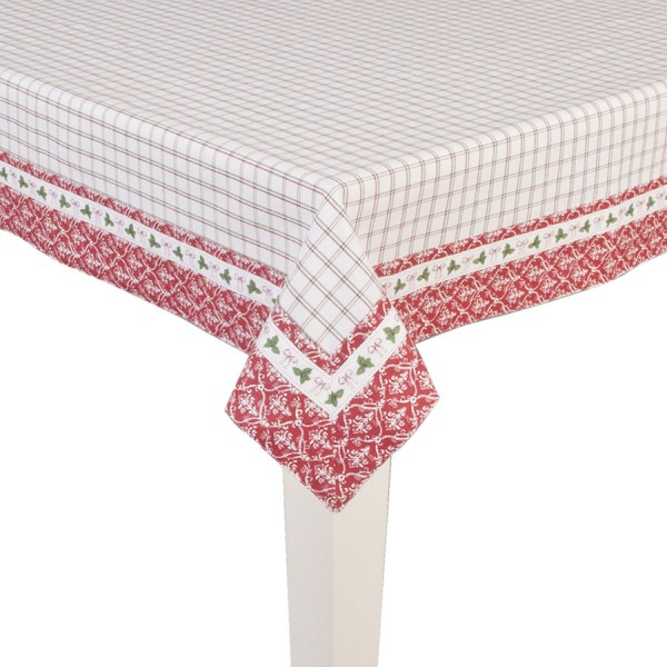 Tablecloth 130x180 cm red