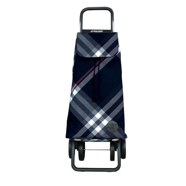 Shopping trolley cart Mountain mf rd6 black dos+2 4 wheel