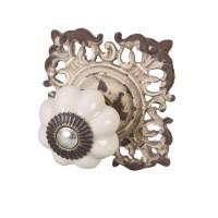 Doorknob 6x6 cm Nature