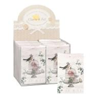 Odore bag rose 8x12 cm tonalità naturale