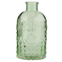 Bottle 7x13 cm green