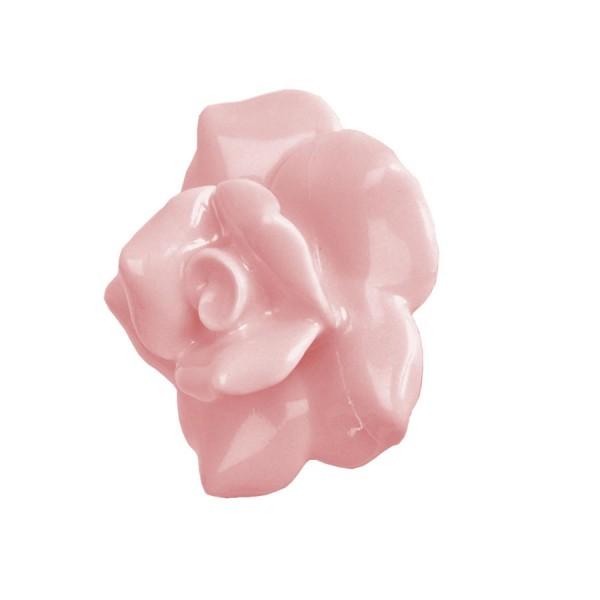 Tirador porcelana rosa color rosa