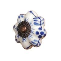 Maniglia ø 3,5 cm blu