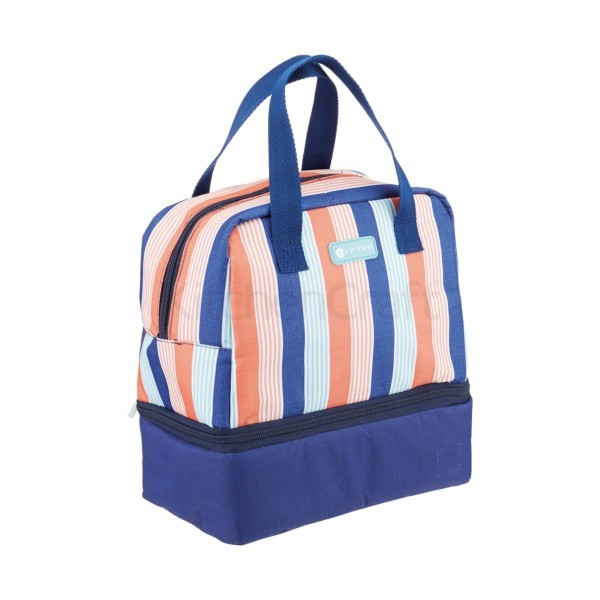Twin compartment cool bag + lunch box