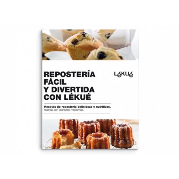 Libro repostería fácil y divertida con Lékué Spagnolo