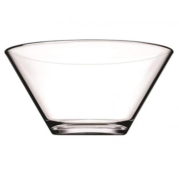 Frutero o ensaladera vidrio transparente Venezia 27xh15 cm
