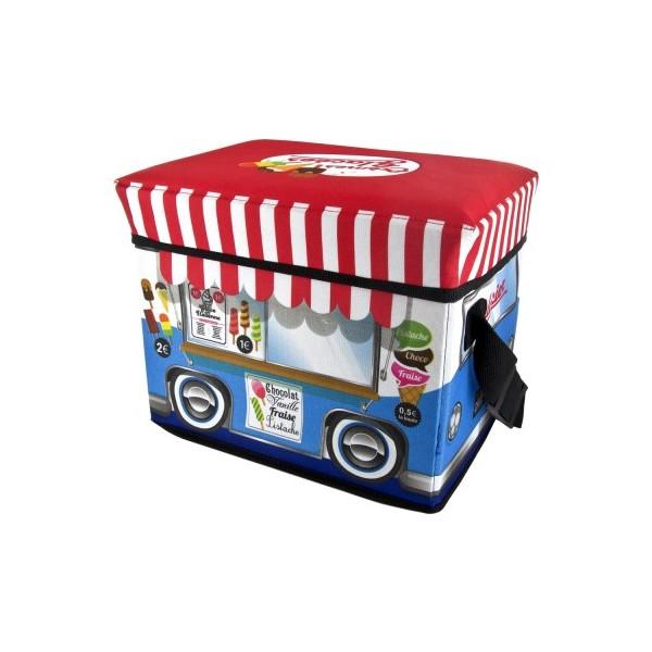 Ice-cream shop icebox