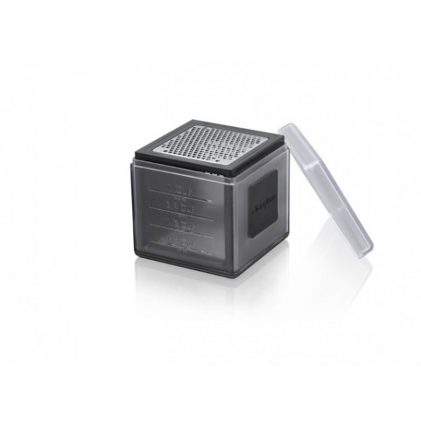 Black Microplane 3-in-1 cube grater
