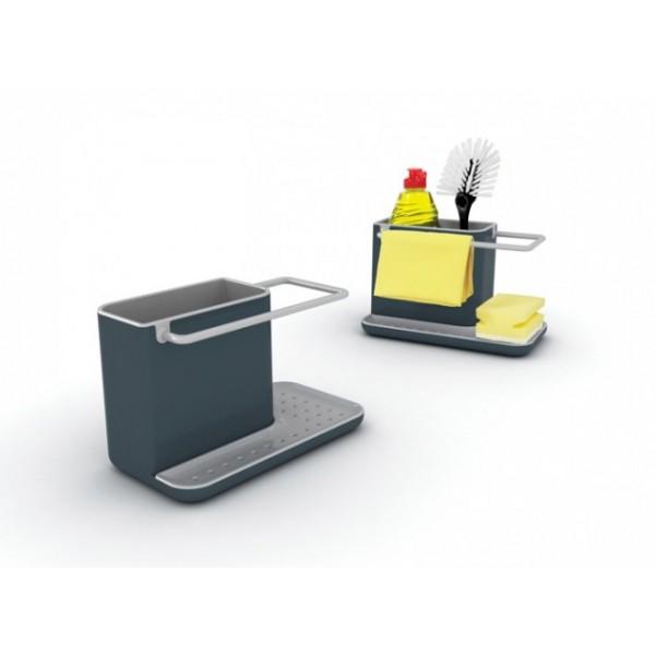 Organizador fregadero gris Sink Caddy Joseph Joseph