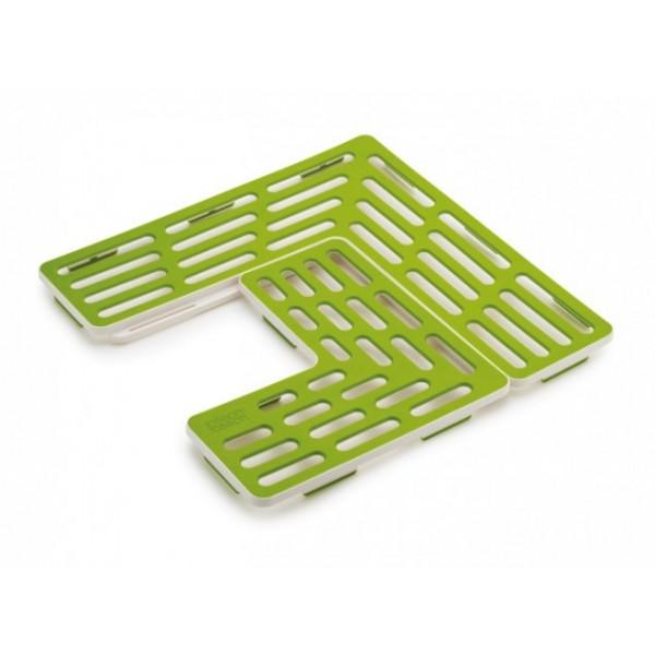 Sink saver tappetino verde/bianco per proteggere il lavabo Joseph