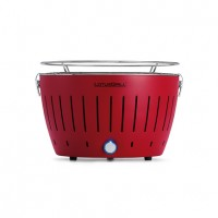 Portable barbecue au charbon LotusGrill rouge