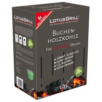 Carbón vegetal para barbacoa 1 kg LotusGrill