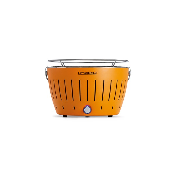 Portable barbecue au charbon LotusGrill orange