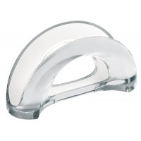 White two-tone table napkin holder Mirage Guzzini