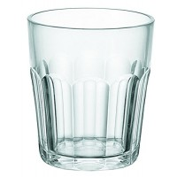 Small clear acrylic glass Molato Dolce Vita Guzzini