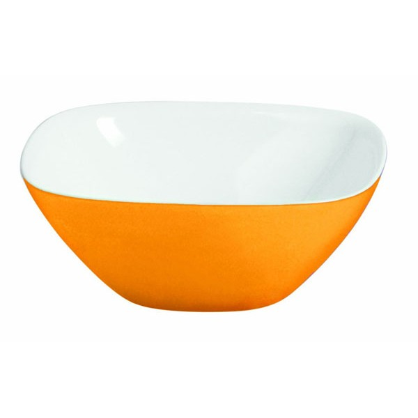 Bowl ensaladera Vintage 30 cm bicolor naranja Guzzini