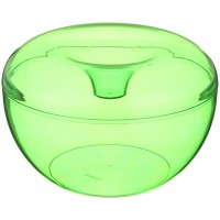 Green clear container for cookies Guzzini