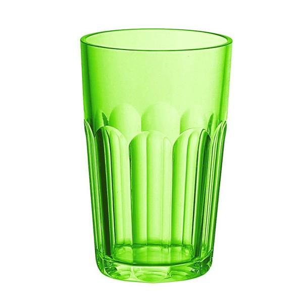 Vaso alto esmerilado Happy Hour verde Guzzini
