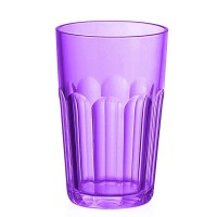 Verre grand acrylique pourpre Happy Hour Guzzini