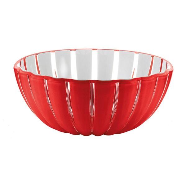 Cestino Grace 30 cm rosso Guzzini
