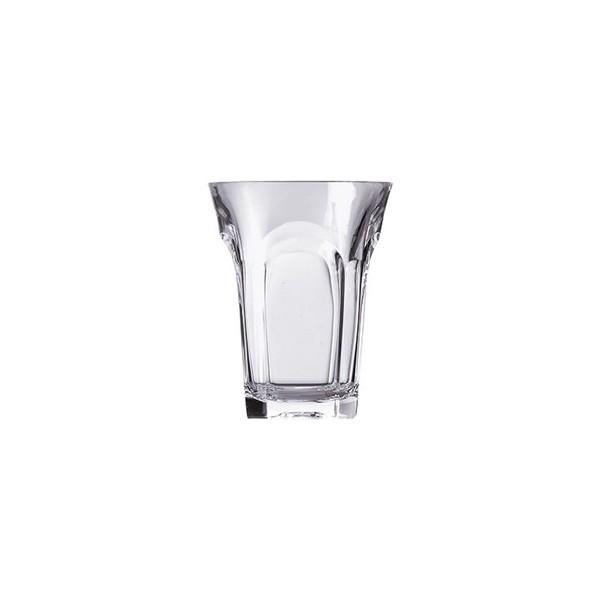 Tall clear acrylic glass Belle Époque Guzzini
