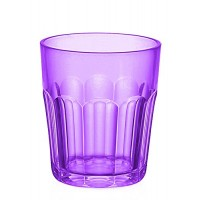 Small purple acrylic glass Happy Hour Guzzini