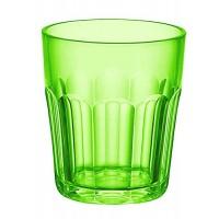 Vaso bajo esmerilado Happy Hour verde Guzzini