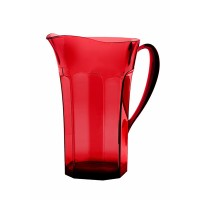 Red Belle Époque jug acrylic Guzzini