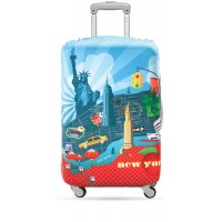 Suitcase cover New York