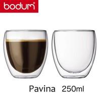 Bicchieri in vetro borosilicato 0,25 l Pavina Bodum (unità)