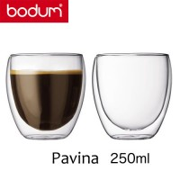 Vaso térmico borosilicato 0,25 l. Pavina Bodum (Unidad)