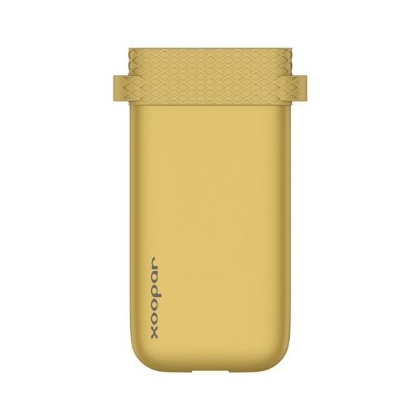Golden colour icebang external Power bank